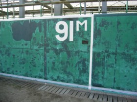 ラバーフェンスへの塗装