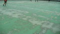 竹ノ塚テニスコート(塗装前)