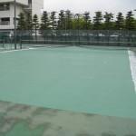竹ノ塚テニスコート(塗装後)